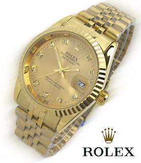 Jam Tangan Rolex Wanita Berkilau