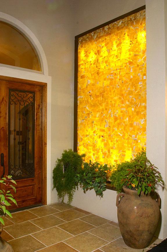 Construindo Minha Casa Clean Pedra Nix Iluminada Na