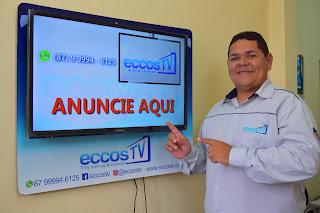 ECCOS TV, MAIS UMA EMPRESA QUE APOIA A CULTURA