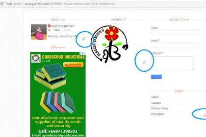 Cara Menghilangkan Icon Quick Edit Bergambar Tang dan Obeng di Blog