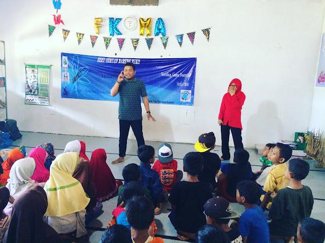 """Lembaga Pers dan Radio Kampus (LEMAPKA) STIAMI Bekasi mengadakan Pelatihan Jurnalistik """"To Be A Good Broadcast & Journalist Since Early"""""""