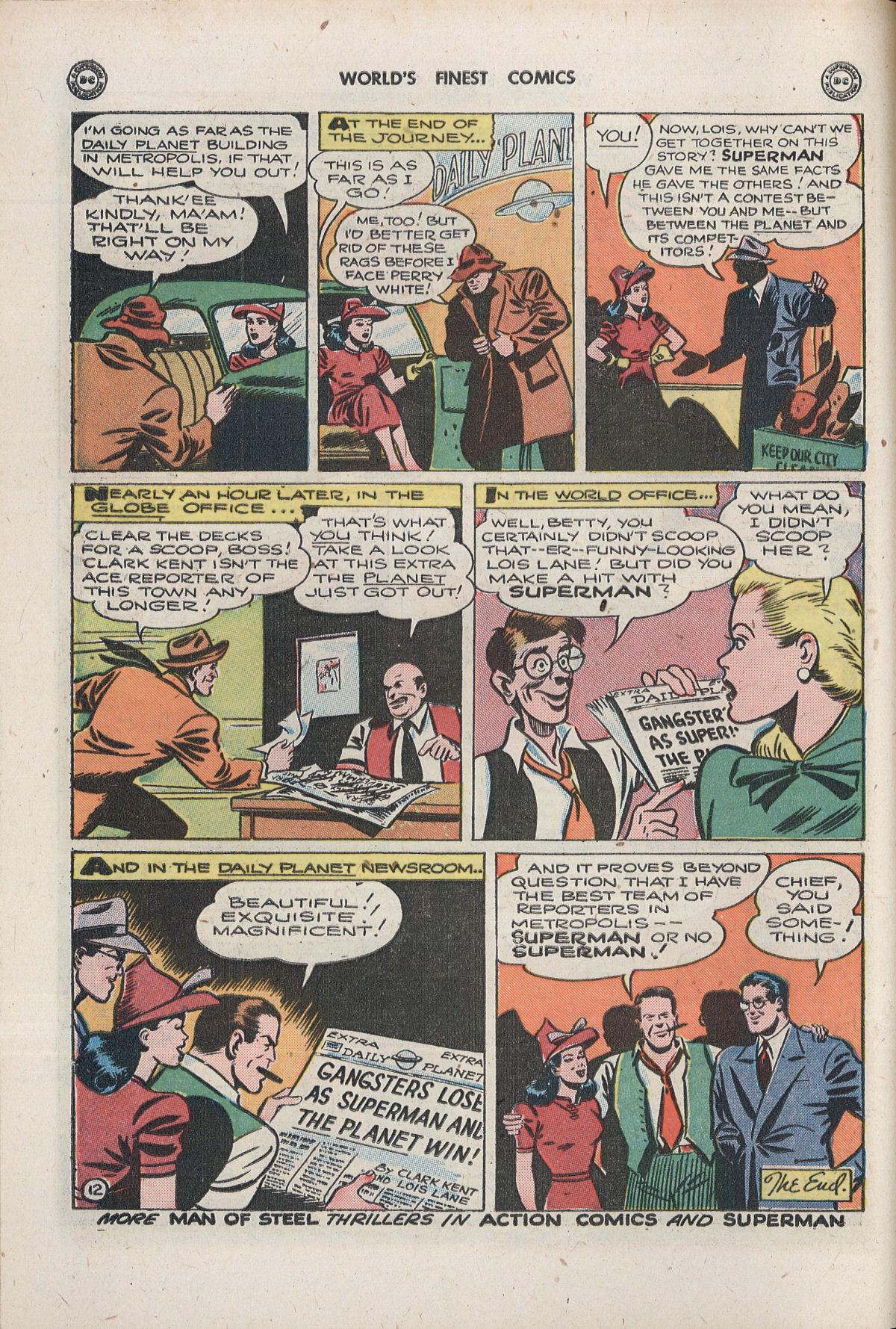 Read online World's Finest Comics comic -  Issue #33 - 14