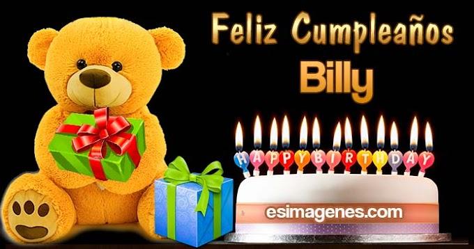 Feliz cumpleaños Billy