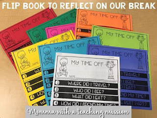 https://www.teacherspayteachers.com/Product/Flipbook-My-Time-Off-Reflection-2888897