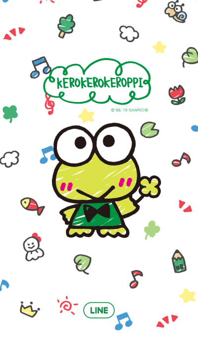 大眼蛙 (手绘风格)
