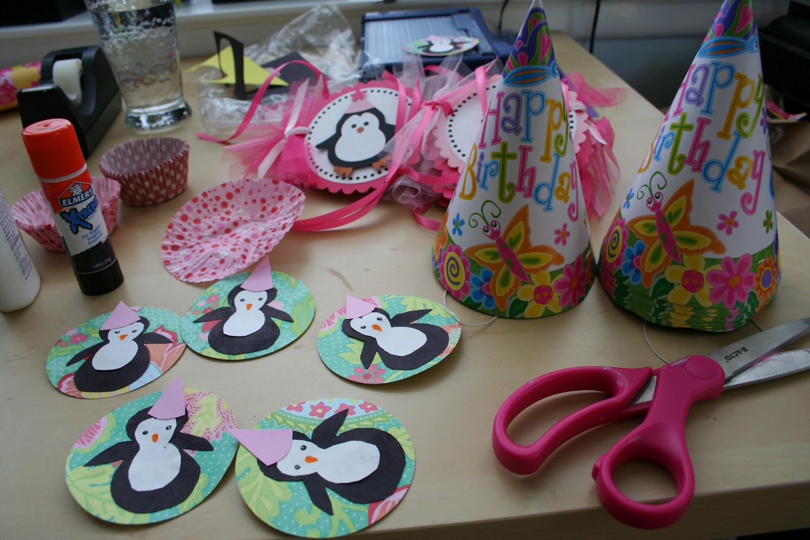 Pink And Green Mama Semi Homemade Birthday Party Hats