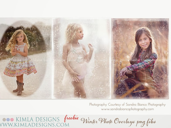 Free Winter Photo Overlays | kimla designs | photography designs