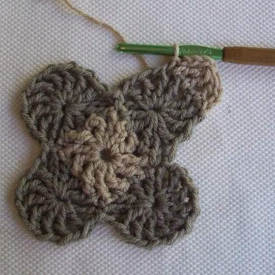 Granny Geométrico a Crochet