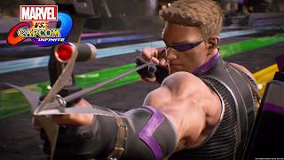 Marvel vs Capcom Hawkeye Wallpaper