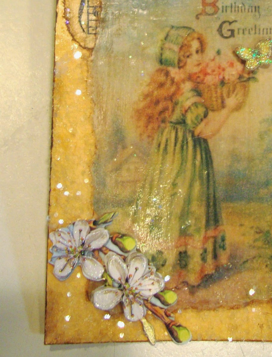 Shabby Tea Party: Another Spring Egg And An Altered Tag