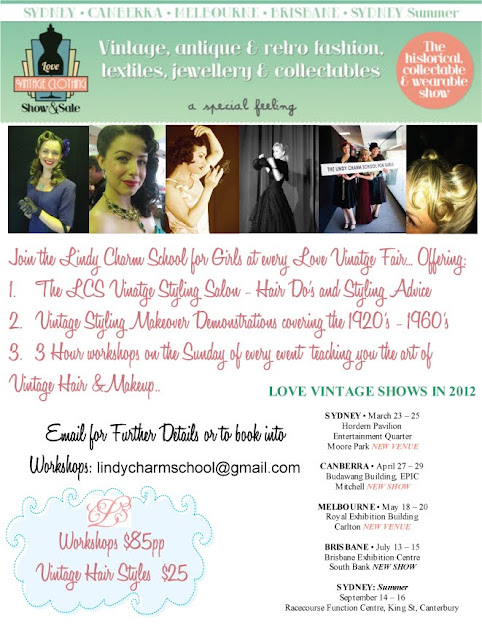 7cc5887758a We will be at every Love Vintage Fair in 2012 Around Australia · The ...