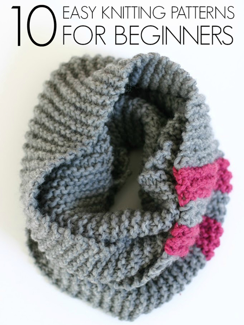 Beautiful Skills - Crochet Knitting Quilting : 10 Easy knitting ...