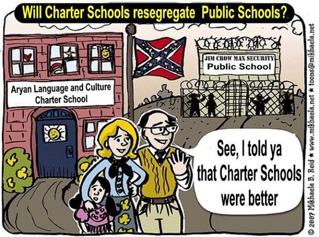 Image result for Charter Schools Segregation