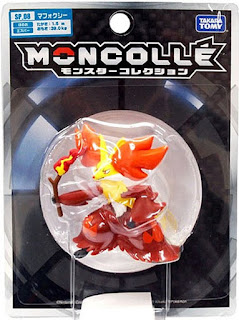 Delphox figure super size Takara Tomy Monster Collection MONCOLLE SP series