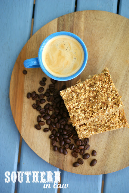 Healthy Coffee Baked Oatmeal Recipe - low fat, sugar free, gluten free, clean eating recipe, vegan