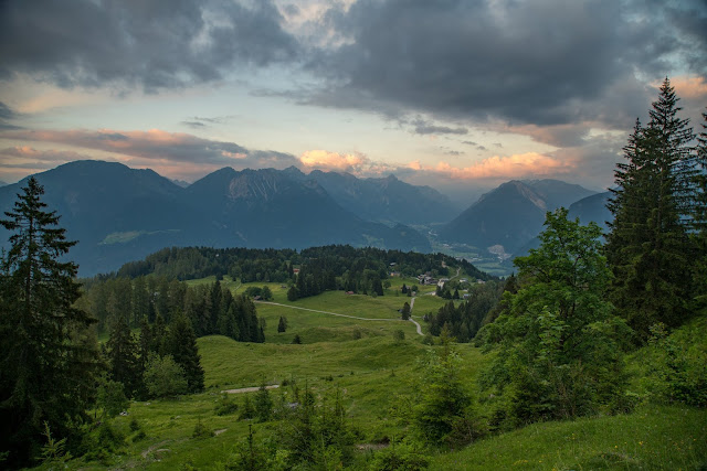 Wanderung auf die Mondspitze  Brandnertal Bürserberg  Wanderparkplatz Tschengla  Alpe Rona  Alpe Furkla 16