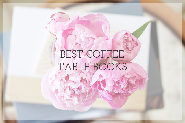 coffee table books & styling - michaela noelle designs