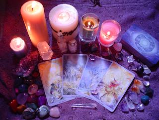 correspondência entre o tarot e os cristais