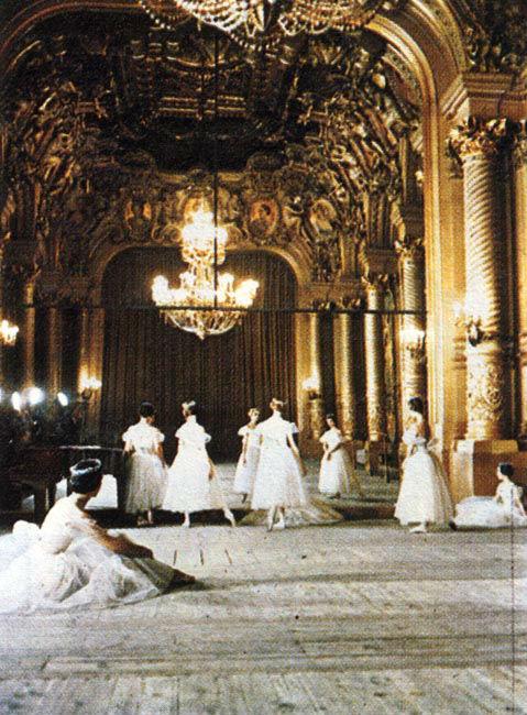 Foyer de la Danza de la Ópera Garnier