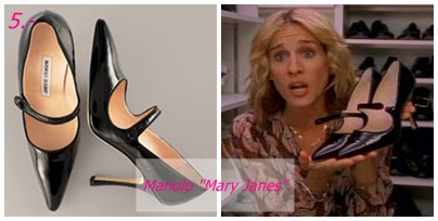 That shoes featured on sex and the city what