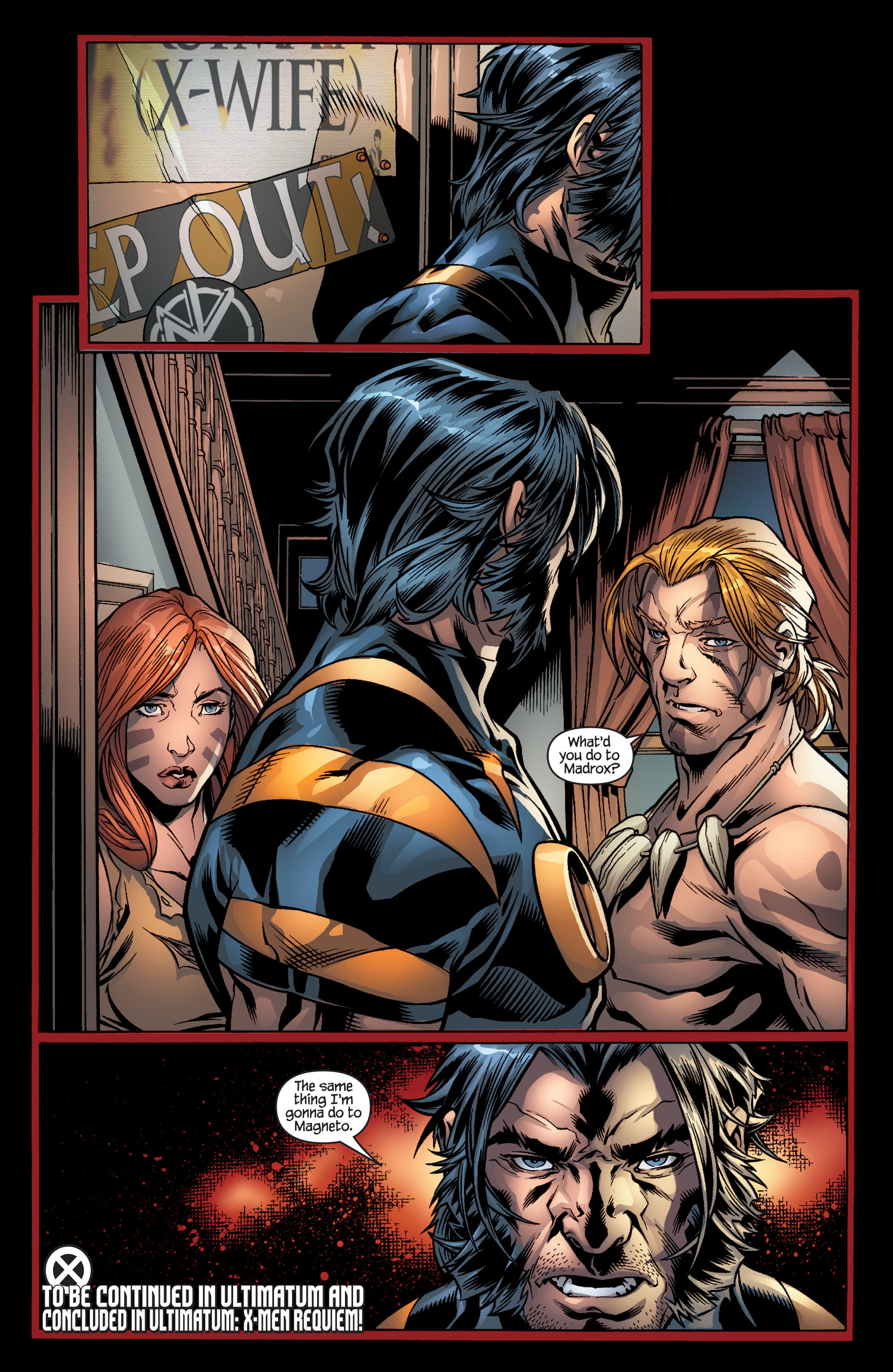 Read online Ultimate X-Men comic -  Issue #100 - 25