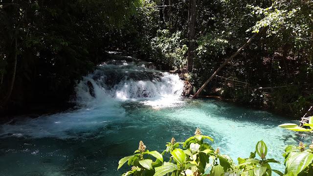 Cachoeira da Formiga de cima da água