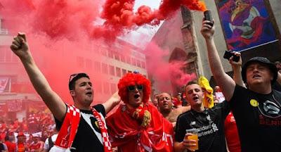 В Киеве проведен финальный матч Лиги чемпионов УЕФА по футболу