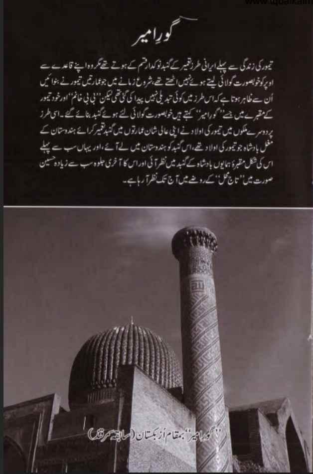 Amir Taimur Urdu