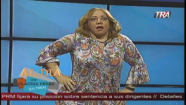 """Suspenden la presentadora de TV Claudia Pérez Ramírez """"La Tora"""" VER VIDEO"""
