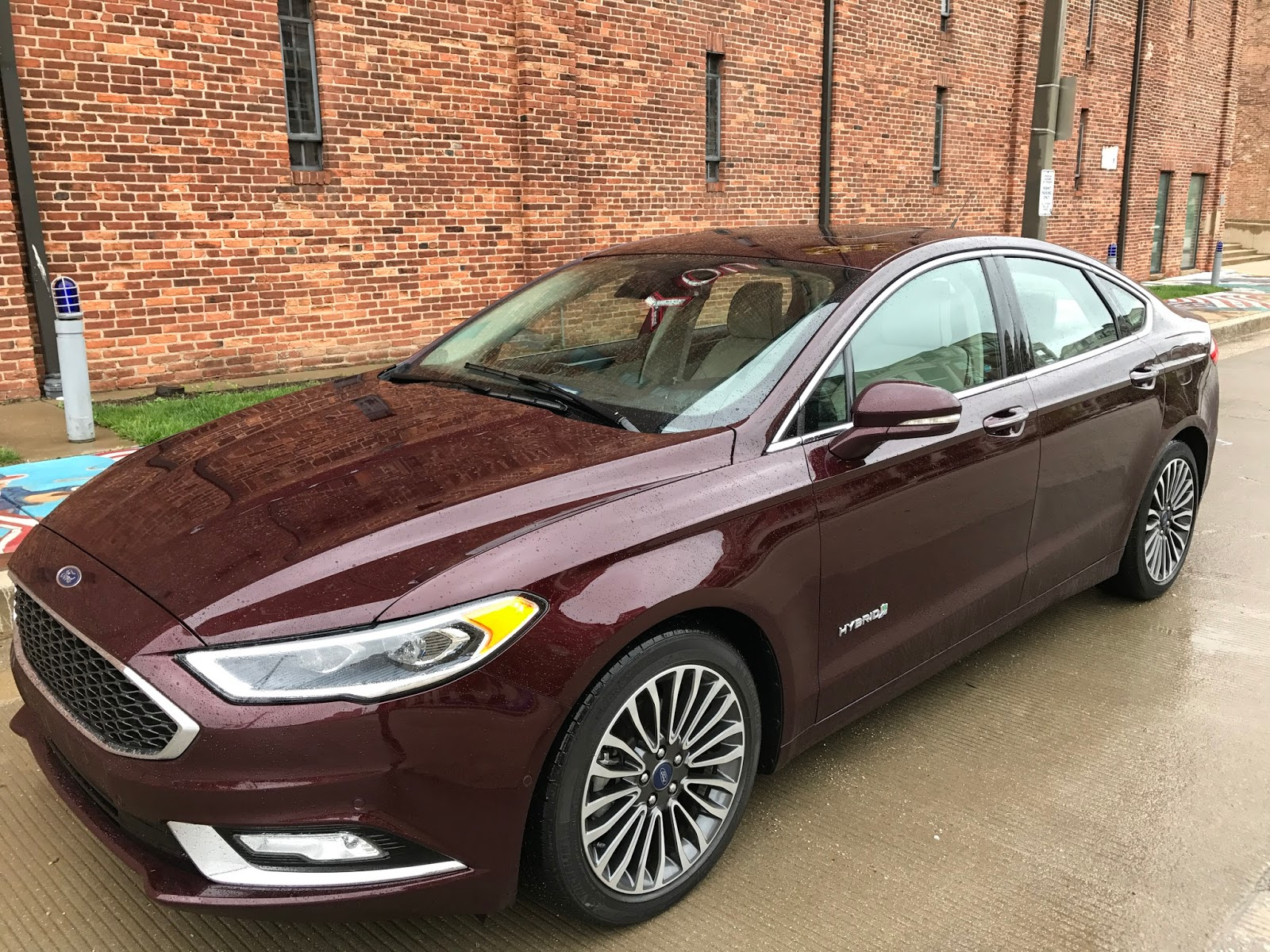 So I Was Pretty Excited A Few Weeks Ago When Got To Cruise Around Dc In Brand New 2017 Ford Fusion Hybrid Platinum Yea