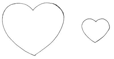 molde de chaveiro de coração em feltro como fazer