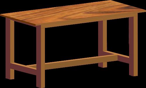 Belajar Desain Menggambar Meja dengan Efek Extrude