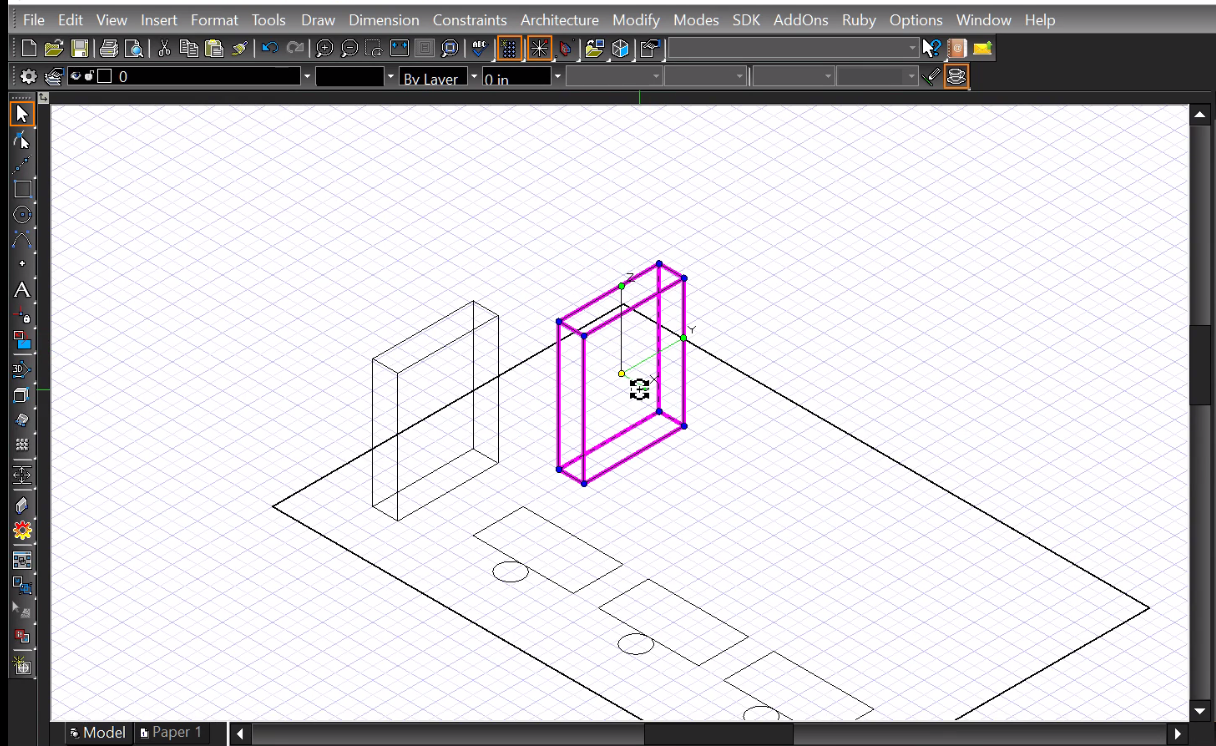 Turbocad Le Coffre Outils Cao The Cad Toolbox How Make A Block Diagram Note You Can Create Blocks On Deluxe Professional Pro Platinum And Designer 2d Only Versions