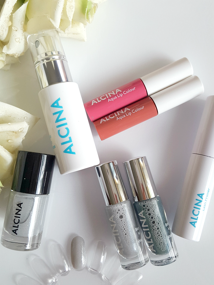 Review: ALCINA - Summer Breeze Makeup Collection - Aqua Face Breeze, Lash primer, lip gloss, nagellack, lidschatten