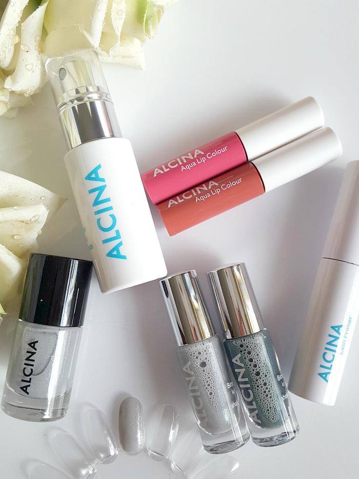 Review: ALCINA - Summer Breeze Makeup Collection - Aqua Face Breeze, Lash primer, lip gloss, nagellack, lidschatten