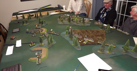Bemis Heights Play Test - Electronic Brigadier