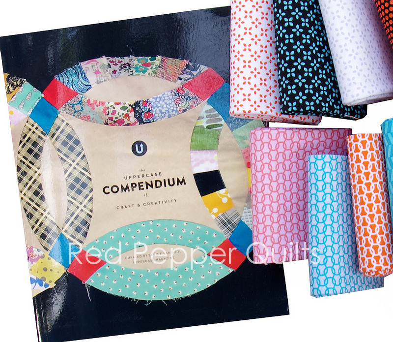 UPPERCASE by Janine Vangool for Windham Fabrics | Red Pepper Quilts 2016