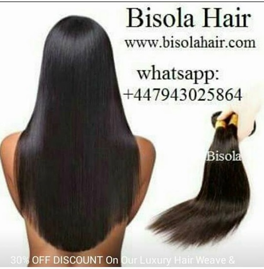 Bisola Hair Number One Hair Brand Authentic Real Human