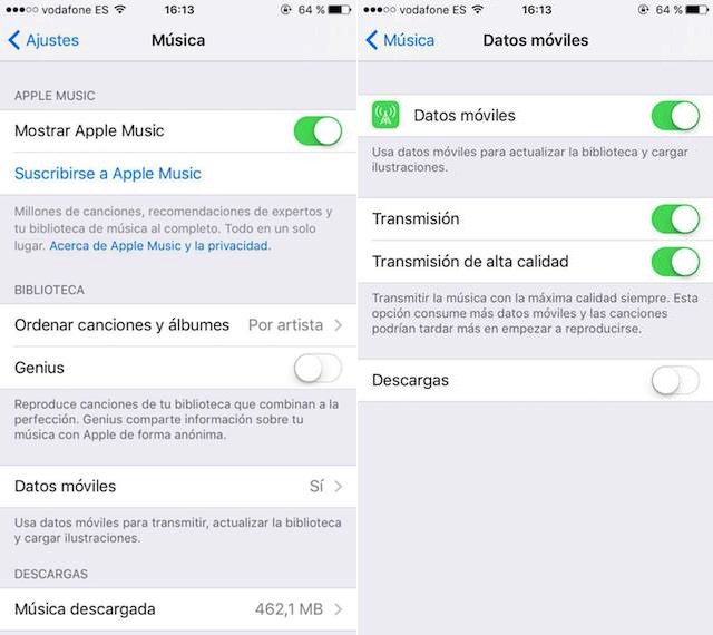 Mejorar-sonido-musica-en-streaming-iphone Listen to streaming music on your iPhone with the best quality Technology