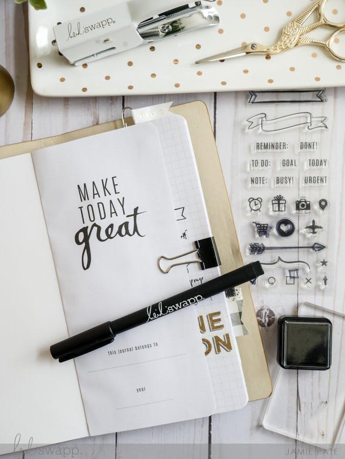 Seven Reasons for a Handmade by Heidi Travelers Journal by Jamie Pate | @jamiepate for @heidiswapp