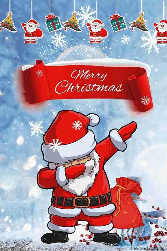 merr christmas thug life santa