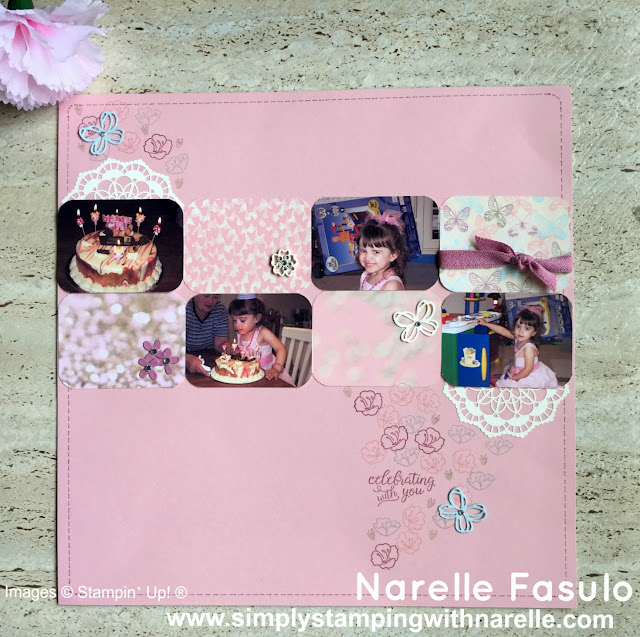 Falling In Love Designer Series Paper - Simply Stamping with Narelle - available here - http://bit.ly/2l6x61k
