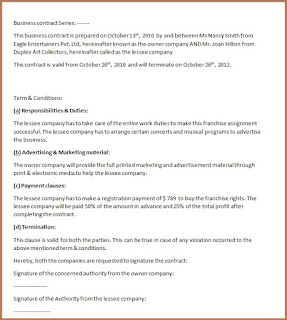 contract template doc