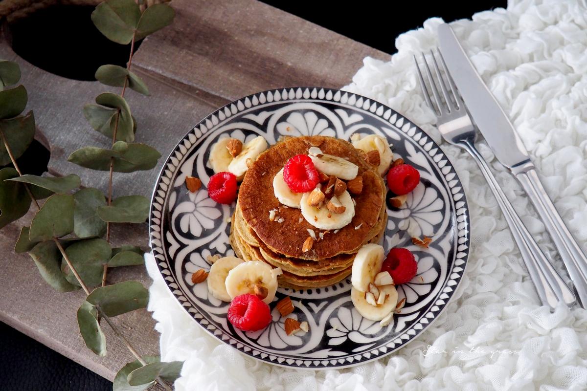 Recette de pancakes healthy à la banane