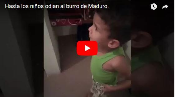 Nicolás Maduro tiene traumatizados a los niños de Venezuela