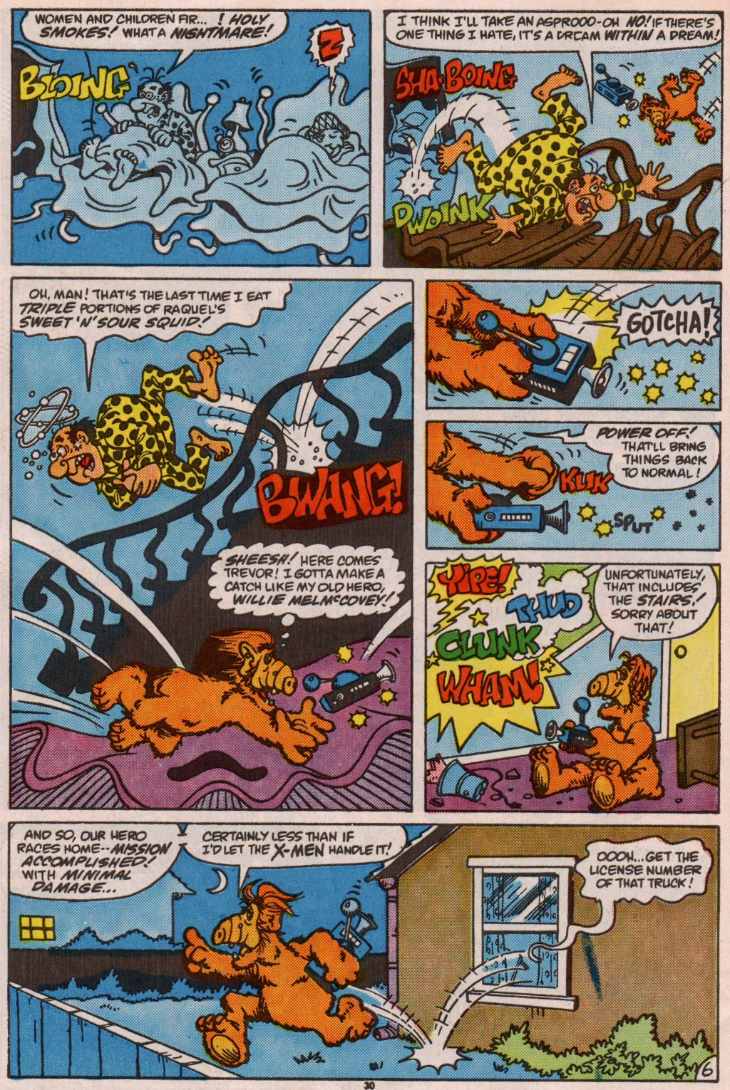 Read online ALF comic -  Issue #7 - 24