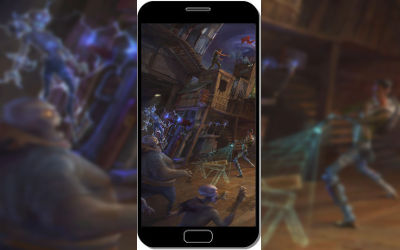 Fortnite Battle Royale Attaque de Squelettes - Fond d'Écran en FHD pour Mobile