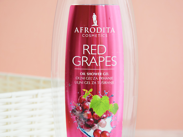 Empties #12 Afrodita Red Grapes Shower Gel