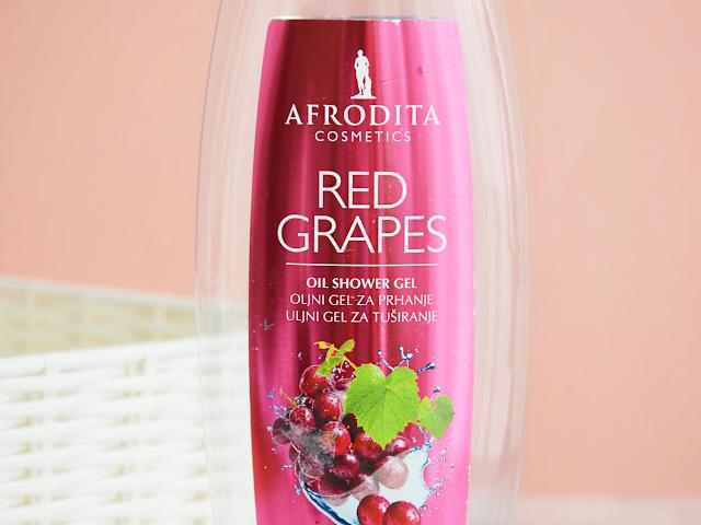 Empties #12 Afrodita Red Grapes Shower Gel