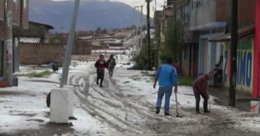 SENAMHI ALERTA: Sierra norte y centro soporta lluvias intensas y granizadas desde hoy hasta el martes 22 - www.senamhi.gob.pe